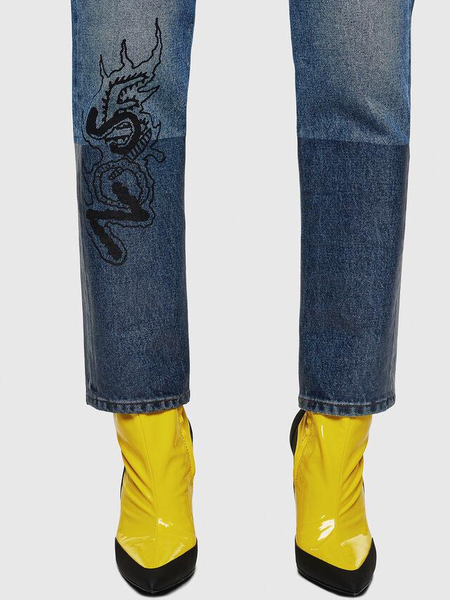 Diesel - D-Eiselle 0078T, Light Blue - Jeans - Image 5