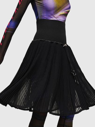Diesel - O-ARIE, Black - Skirts - Image 4