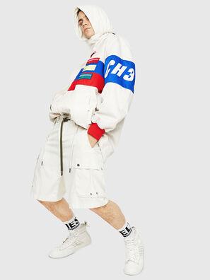 P-AIMI-P, White - Shorts