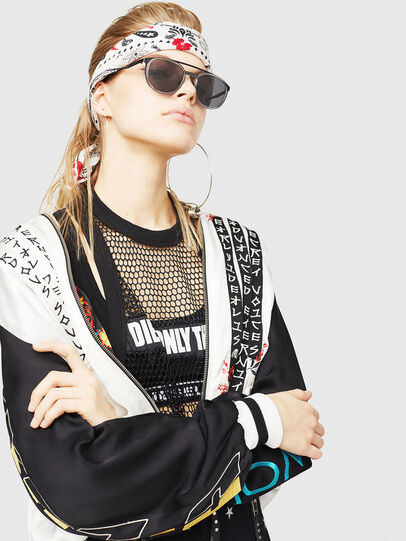 Diesel - DL0293, Black/Grey - Sunglasses - Image 5