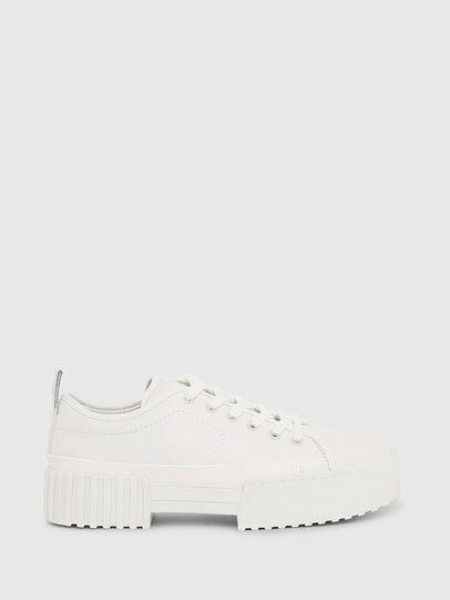 Diesel - S-MERLEY LC, White - Sneakers - Image 1