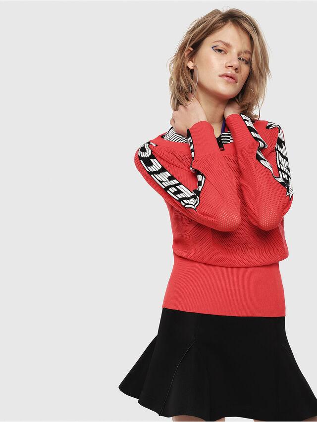 Diesel - M-NANCY, Coral Rose - Knitwear - Image 3