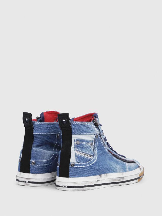 Diesel - EXPO-ZIP W, Blue Jeans - Sneakers - Image 3