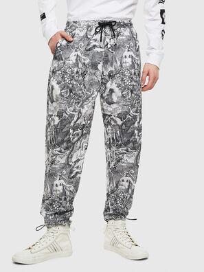 P-TOLL-KAOS, Black/White - Pants