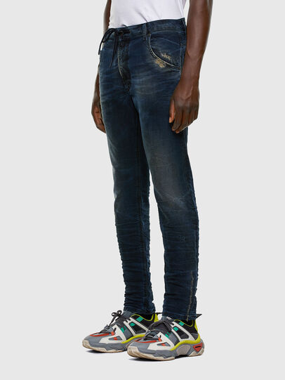 Diesel - Krooley JoggJeans 069NP, Dark Blue - Jeans - Image 8