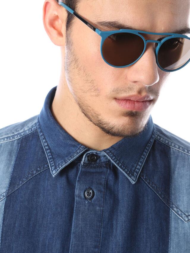 Diesel - DM0195, Blue - Eyewear - Image 5