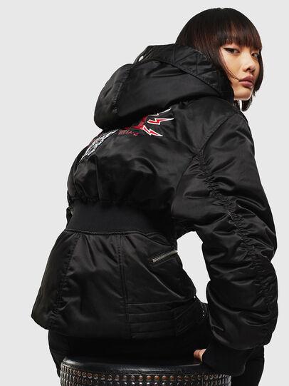 Diesel - CL-W-ISOKE-A-LITM, Black - Winter Jackets - Image 6