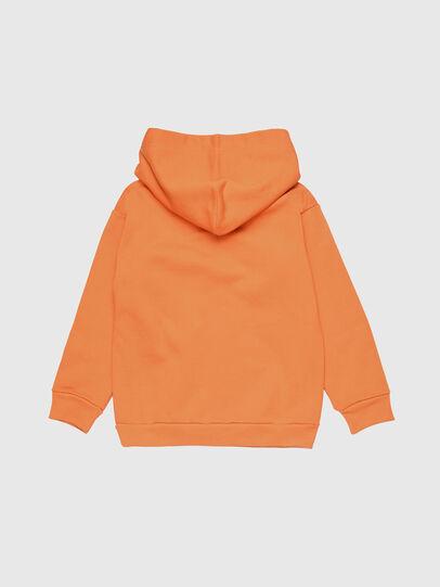 Diesel - SDIVISION OVER, Orange - Sweaters - Image 2