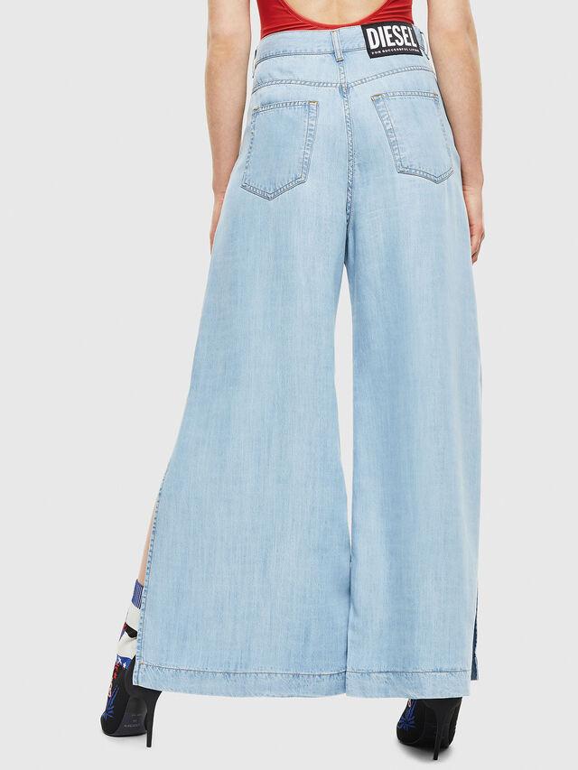 Diesel - DE-MATYN, Light Blue - Pants - Image 2