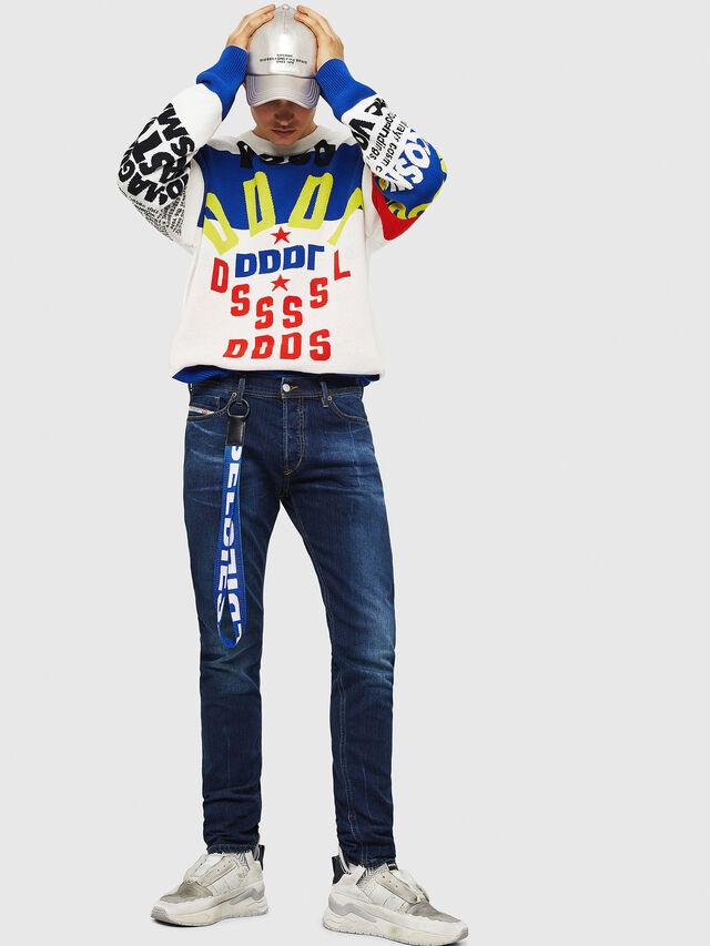 Diesel - Tepphar 083AT, Dark Blue - Jeans - Image 6