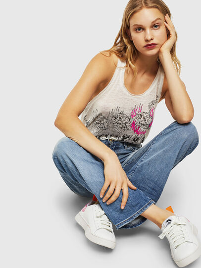 Diesel - S-CLEVER LOW LACE W, White/Pink - Sneakers - Image 8