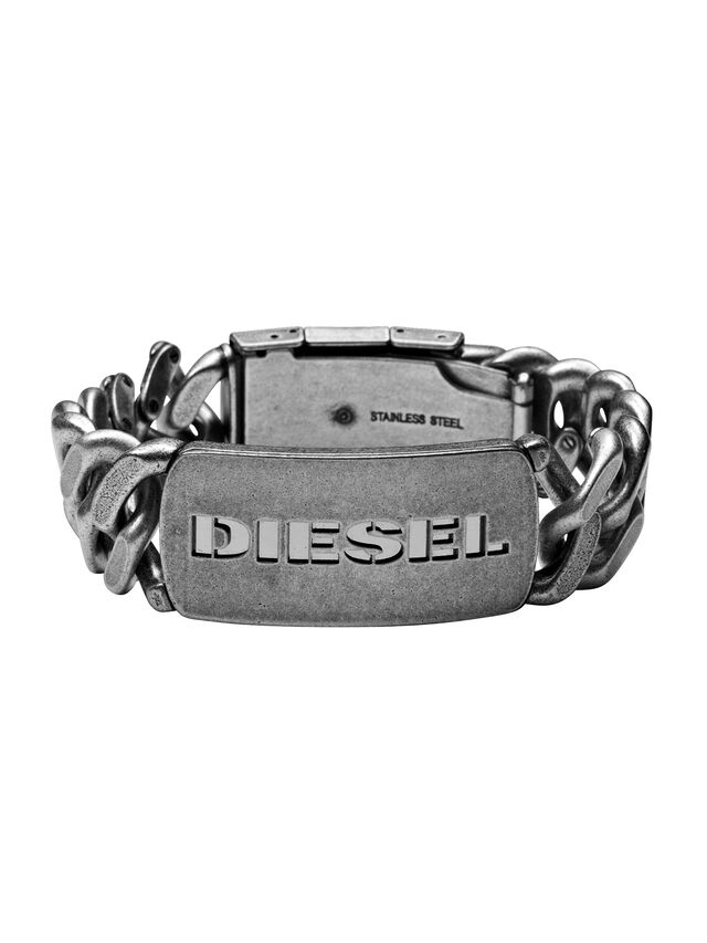 Diesel BRACELET DX0656, Silver - Bracelets - Image 1