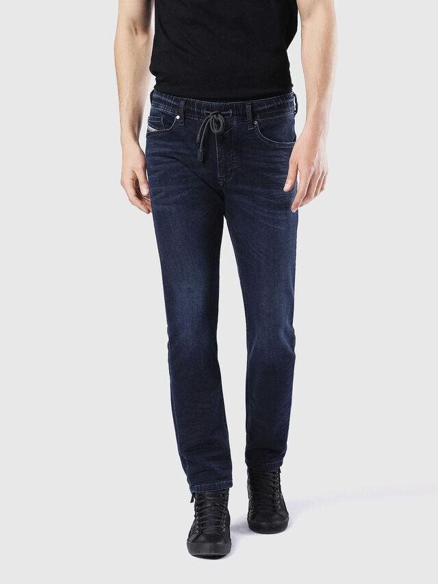 Diesel - Waykee JoggJeans 0842W, Dark Blue - Jeans - Image 2