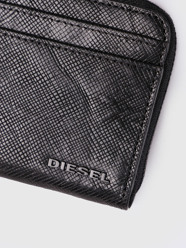 Diesel - PASS ME, Black - Continental Wallets - Image 3