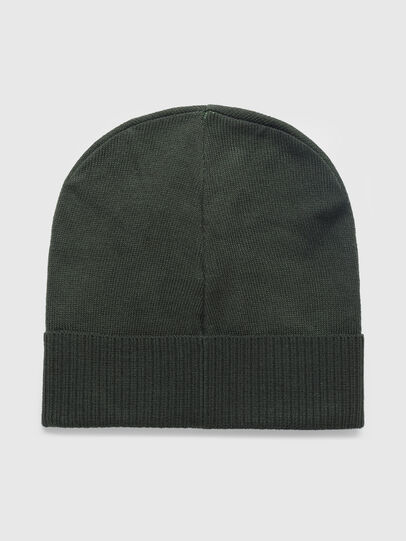 Diesel - K-BECKY-C, Military Green - Knit caps - Image 2
