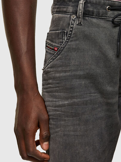 Diesel - Krooley JoggJeans® 069SY, Black/Dark grey - Jeans - Image 3
