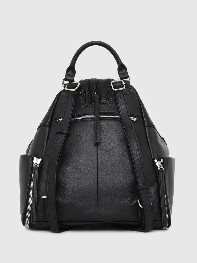 Diesel - LE-MHONIC, Black - Backpacks - Image 2