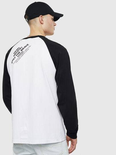 Diesel - T-RODDI, White/Black - T-Shirts - Image 2