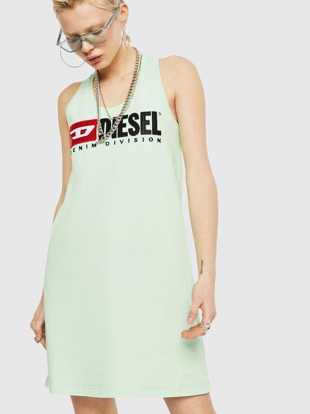 Diesel - T-SILK, Green Fluo - Tops - Image 1
