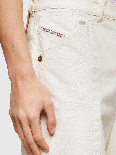 Diesel - D-FRANS-SP1, White - Shorts - Image 3