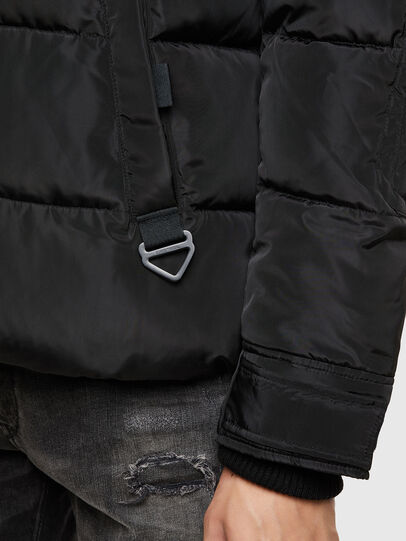 Diesel - W-RUSSELL-WH, Black - Winter Jackets - Image 4