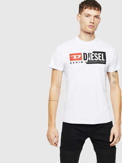 Diesel - T-DIEGO-CUTY, White - T-Shirts - Image 4