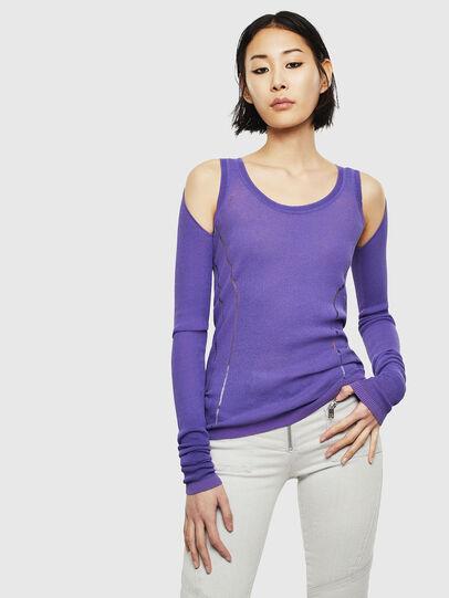 Diesel - K-SIMONA, Violet - Knitwear - Image 1
