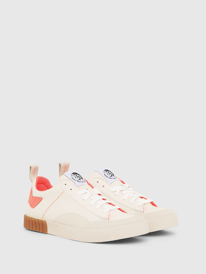 Diesel - S-BULLY LC W, White/Pink - Sneakers - Image 2