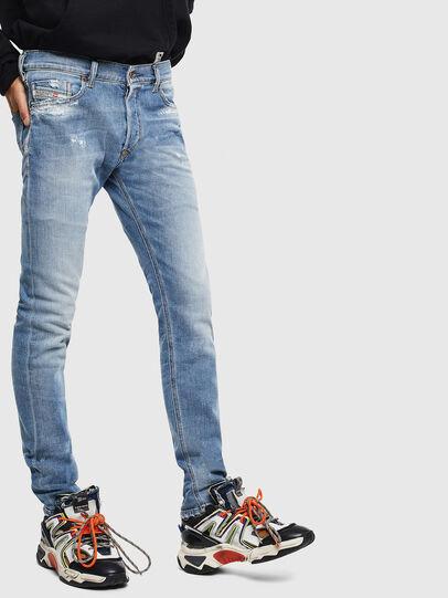 Diesel - Tepphar 009BU, Light Blue - Jeans - Image 4