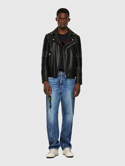 Diesel - L-STARKVILLE-A, Black - Leather jackets - Image 5