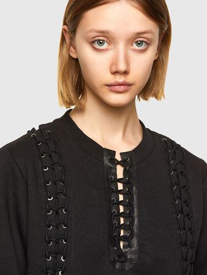 Diesel - F-ANAIT, Black - Sweaters - Image 3
