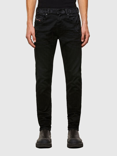 Diesel - D-Strukt 009KT, Black/Dark grey - Jeans - Image 1