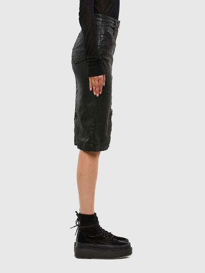 Diesel - D-ELBEE JOGGJEANS, Black - Skirts - Image 3