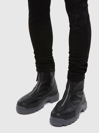 Diesel - D-Istort 069QT, Black/Dark grey - Jeans - Image 5