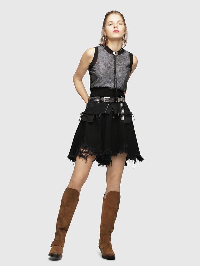 Diesel - M-SETT, Black - Knitwear - Image 4