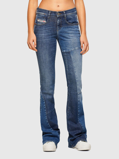 Diesel - D-Ebbey 009NP, Medium blue - Jeans - Image 1
