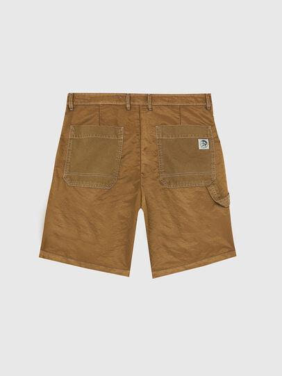 Diesel - P-TRENT-SHORT, Light Brown - Shorts - Image 2