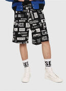 P-FRANK-DNM-SHORT-P, Black/White - Shorts