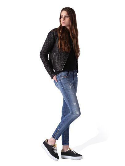 Diesel - Skinzee Low Zip 0847U,  - Jeans - Image 5