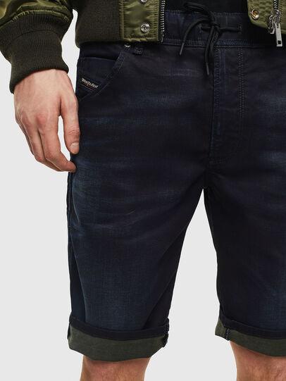 Diesel - D-KROOSHORT JOGGJEANS,  - Shorts - Image 4