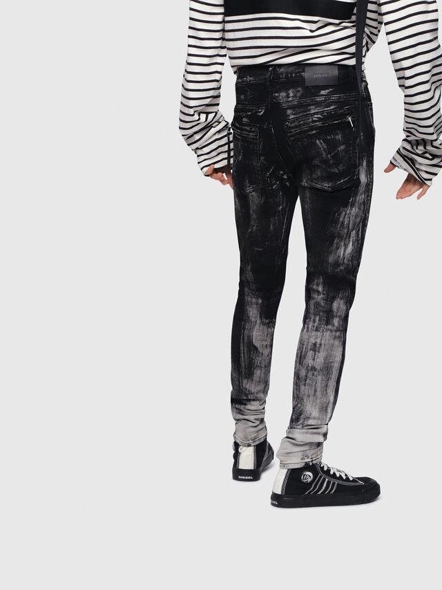 Diesel - D-Amny 089AF, Black/Dark grey - Jeans - Image 2