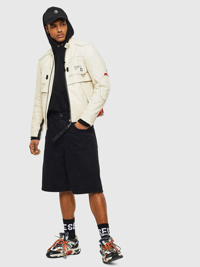Diesel - L-DIXON,  - Leather jackets - Image 8