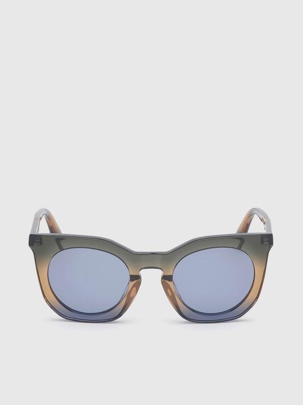 DL0283, Blue/Yellow - Sunglasses