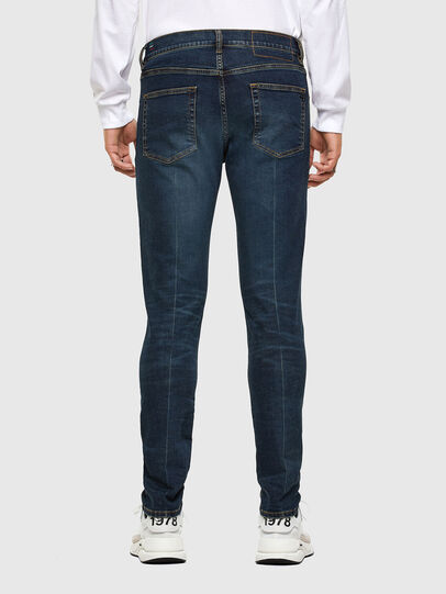 Diesel - D-Strukt 0093J, Dark Blue - Jeans - Image 2