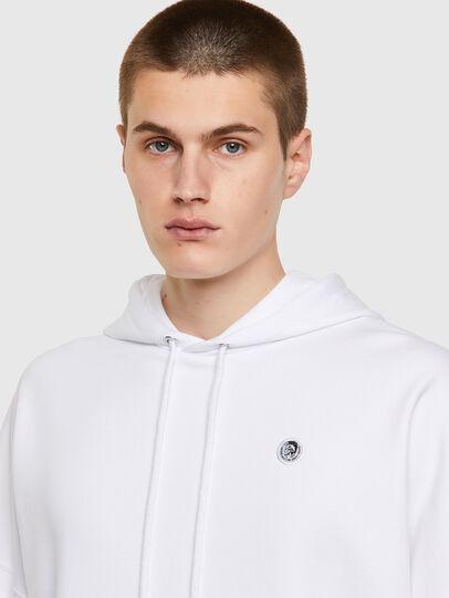 Diesel - S-KRIB-HOOD-ROMOHI, White - Sweaters - Image 3