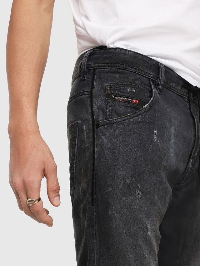 Diesel - Krooley JoggJeans 069IA, Black Jeans - Jeans - Image 3