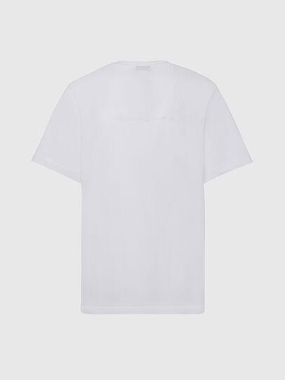 Diesel - T-TUBOLAR-X20, White - T-Shirts - Image 2