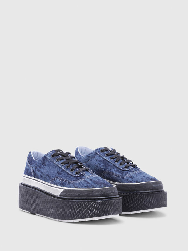 Diesel - H-SCIROCCO LOW, Blue - Sneakers - Image 2