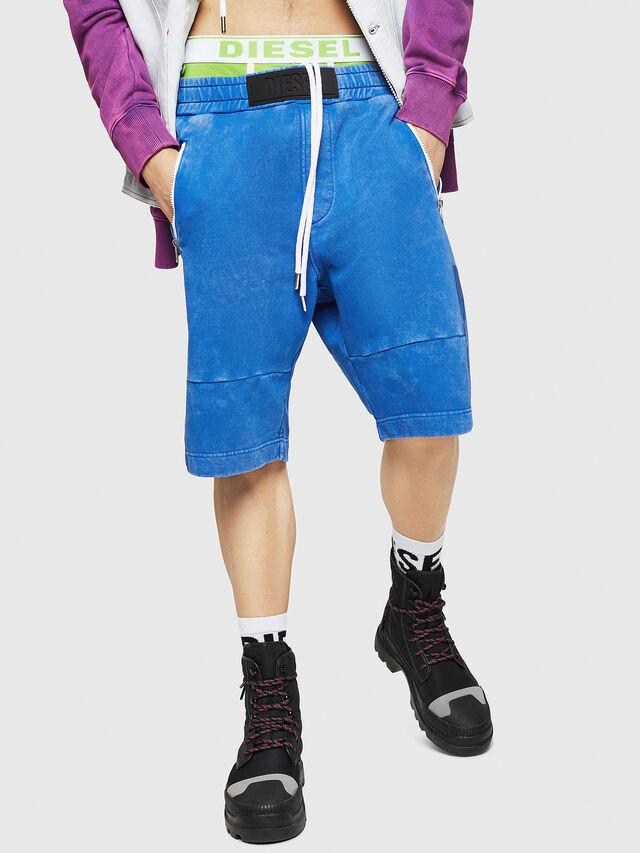 Diesel - P-BIRX, Blue - Shorts - Image 1