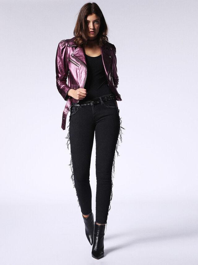 SLANDY-SP 0688G, Black Jeans